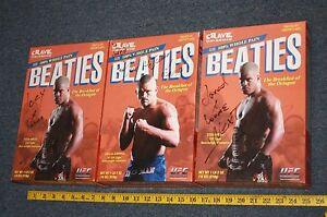 Autograph UFC Promotional Beaties Box Tito Ortiz (2) & Chuck Liddell