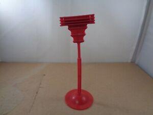 Mattel MOTU Screech Perch & Base Stand In Red , Vintage Items