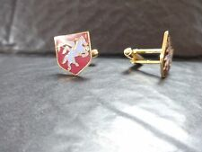 ALLIED AIRBORNE DIVISION Gents Cuffs Links - Pegasus in shield