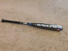 "New Rawlings Rush 29"" Drop 10 Gray,Blue,Black& White youth Baseball bat"