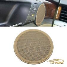 Beige Door Speaker Cover Cap For VW Jetta Golf 00-14 Beetle 98-10 Passat B5