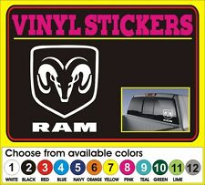 "6"" Dodge Ram Hemi Pickup window car truck vinyl sticker decal"