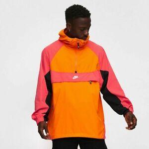 Men's Nike Sportswear Hooded Jacket Bright Ceramic Amber BV5385-873 Size XL