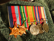 AUSTRALIA WW2 NX67161 SGT SMITH KEN D 2/14th FIELD ENGINEERS CORPS MEDALS