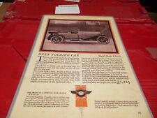 set of 7 the auto car magazine laminated sale ads 1920's &1930's bx10 1100264