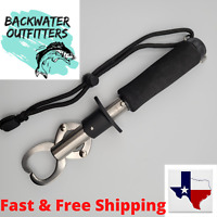 Fish Lip Gripper w/ Weigh Scale & Lanyard Stainless Steel Construction
