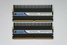 4GB (2x2GB) Corsair Dominator DDR2 Memory 1066MHz C5 PC2-8500 TWIN2X4096-8500C5D