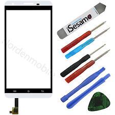 CUBOT x15 pantalla táctil de vidrio digitalizador pantalla blanco + película adhesiva + herramientas,