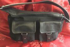 ESPRIT Handtasche schwarz 39x22x11 cm kaum benutzt
