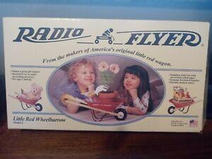 Wheelbarrow Radio Flyer Little Red #4  New Open Box