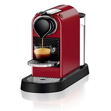 NEW Nespresso CitiZ Espresso Machine CHERRY RED Single Serve Capsule Coffee