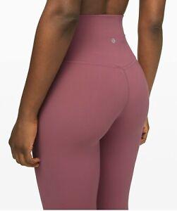 "Lululemon Align Pant 25"" Moss Rose Size 2"