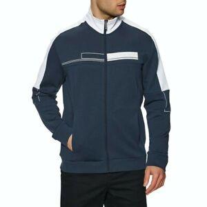 RRP £200 Hugo Boss Athleisure Track jacket Mens Size LARGE blue saggy skaz top Y