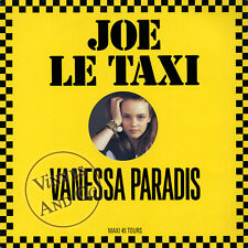 "VANESSA PARADIS - Joe Le Taxi [Version Longue] MAXI 45 TOURS 12"" Maxi-Single"