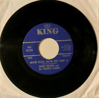 """JAMES BROWN & FAMOUS FLAMES - Maybe Good, Maybe Bad - 7"""" 45RPM Vinyl Record - EX"""