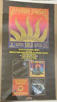 1979 Jefferson Starship Gold Original Vintage Poster Pin-up Album Covers 20 x 36