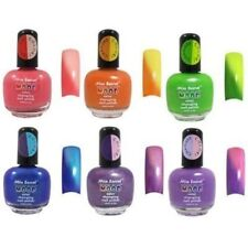 Mia Secret Mood Nail Lacquer Temperature Color Changing Nail Polish Set of 6