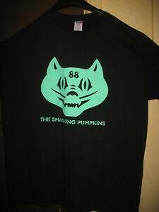 The Smashing Pumpkins T-Shirt Men's Size XL Black - Cat Face 88