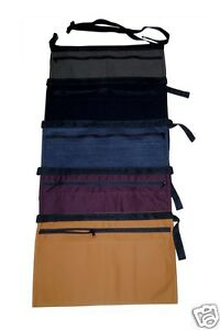 Denim Market Trader Money Belt Bag Pouch Apron Adjust Waist Strap Black Colours