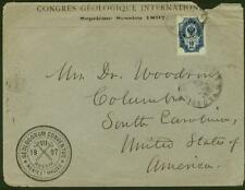 Russia 1897 cover International Geological Congress