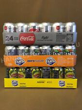"""Cola light, Fanta zero, Lipton zero ,je 24x0,33l Dose XXL-Paket """"72 Dosen total"""""""