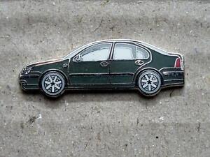 Volkswagen VW Pin Bora Saloon, Original, Green Very Rarely