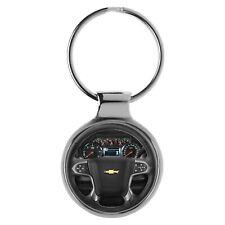 KIESENBERG Key Chain Ring Gift for Chevrolet Silverado Fan Cockpit A-20488