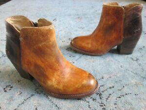 Bed Stu Cobbler Series Ankle Boots Booties distressed Sz. 8