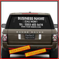 Window/Windscreen Rear Car Exterior Styling Decals