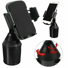 Universal Adjustable Phone Cup Holder Car Mount For Iphone Cell Phones P4D4