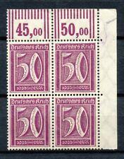 Reich 183  2 x WOR in blok van vier postfris (1)