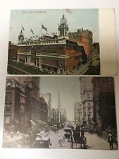 Postcards New York City Qty 2