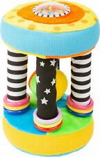 Legler Stoffgreifling Baby Greifling Rollen Rassel Ball Lernspielzeug mehrfarbig