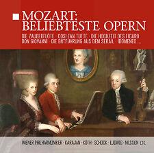 CD Mozart: Más solicitado Opern,Famoso óperas con Herbert de Karajan,Rudo 14CDs