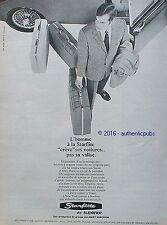 PUBLICITE STARFLITE VALISE BAGAGE GROUPE ALLIBERT SUPERIOR DE 1967 FRENCH AD PUB