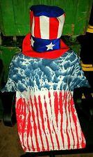 Stars 'n Stripes Tye~Dye Heavyweight Tee-shirts