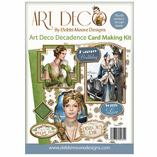 Debbi Moore ART DECO DECADANCE Cardmaking Kit