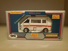 Ratchet Ambulance Diaclone Italian TransFormers 100% MIB 1983