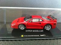 Ferrari f40 Competizione rojo red 1:43 modelo Hot Wheels elite x5507