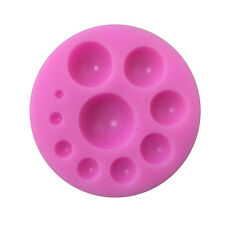 New Refined Half Round Ball Shaped Silicone Mold Cake Cookie Decor Fondant Mould