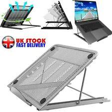 Adjustable Laptop Stand Folding Portable Mesh Desktop iPad Holder Support Office