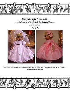 Ann Estelle 10in ~Fancy Dress ~ by Simply Grace Designs Clothing Pattern