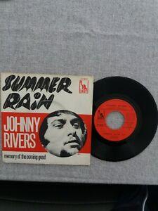 JOHNNY RIVERS Summer Rain 1967 SP LIBERTY LIF 66267 ROCK POP