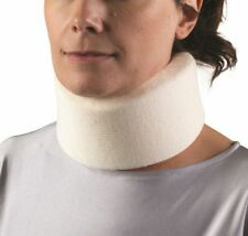 "NEW UNIVERSAL Firm Foam Cervical Collar Neck Brace 2.5"" Width 13""-22"" Adjustable"