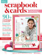 Scrapbook & Cards Today Magazine Winter 2018 Creative Inspiration