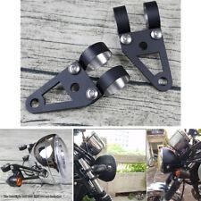 41mm Fork Headlight Turn Signal Mount Bracket For Motorcycle Chopper Cafe Racer