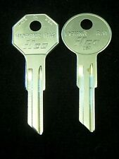 KEY BLANK SET Ign/Trunk AMERICAN MOTORS AMC 1954-69, NASH 49-57, HUDSON 1940-57