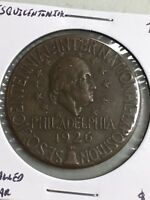 1926 SESQUICENTENNIAL SO CALLED DOLLAR COPPER MEDAL