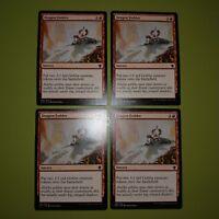 Dragon Fodder x4 Dragons of Tarkir 4x Playset Magic the Gathering MTG