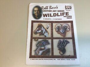 Wildlife Pattern Pack ByRobb Barr's Volume 1  Hide Crafter LeatherCraft